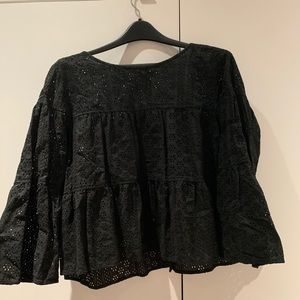 Madewell Button Back Blouse- 2X